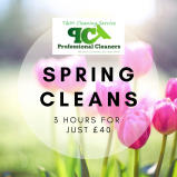 3 hour Spring Clean from just £40 at T & M Cleaning Service