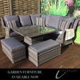 Garden Furniture available now at discount prices at Interior by Design