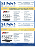 State of the art Dahua CCTV systems from £568.30 at Sunny Electrical Supplies