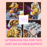 Afternoon Tea for Two £25 at Mel's Buffets