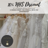 10% NHS Discount at Lovebirds Bridal Boutique
