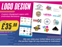 Logo Design only £35 at SB Creative Design and Print