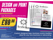Design and Print Packages from £80 at SB Creative Design and Print