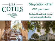 STAYCATION OFFER AT LES COTILS