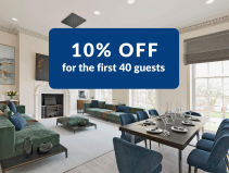 10% off for the first 40 guests