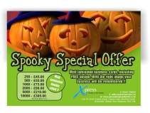 Spooky Special Offer at Xpress Design & Print!