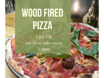2 x Pizzas for Just £18