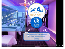 Eat Out To Help Out - OCTOBER Offer