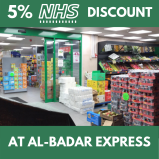 5% NHS Discount at Al-Badar Express