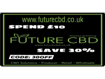 30% off all CBD orders over £10 at Future CBD