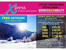 Bounce Back with the help of Xpress Design & Print...