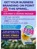Make your business blossom this Spring with Xpress Design & Print's latest offer!