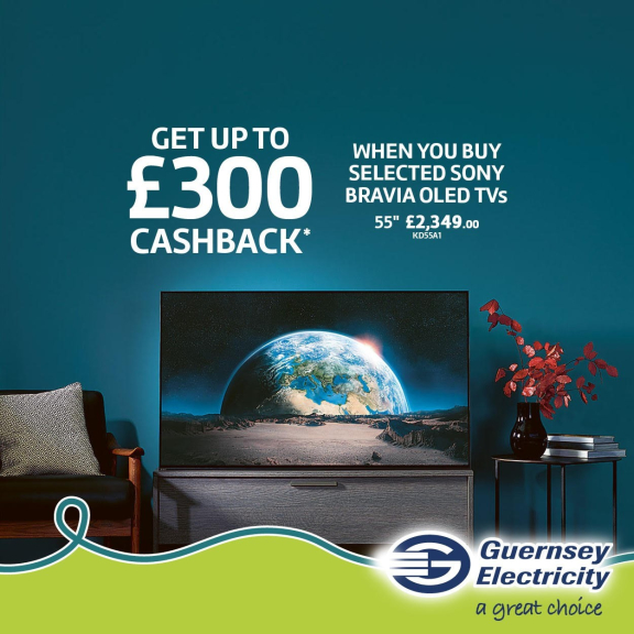 Receive £300 Cashback from Sony