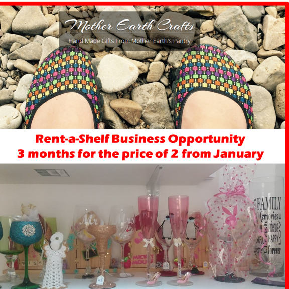 Mother Earth Craft Hub – Rent-a-Shelf Business Opportunity