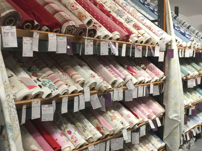 10% Off All Fabric In Store