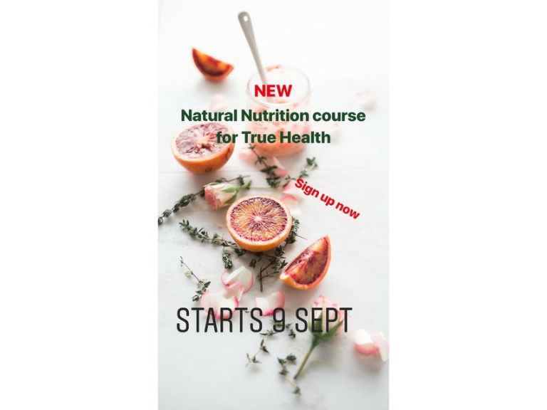 NATURAL NUTRITION FOR TRUE HEALTH
