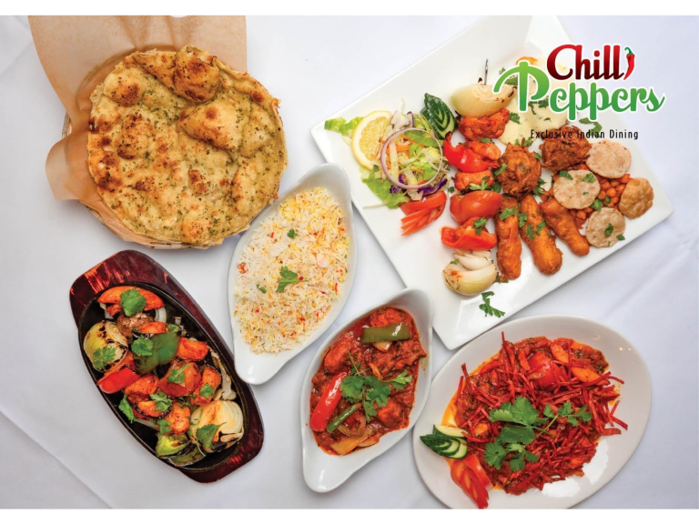 10% Discount on cash & collection orders over £12 at Chilli Peppers Indian Restaurant