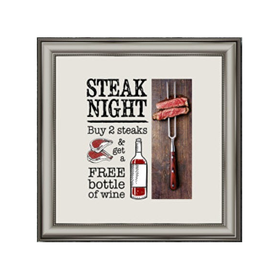 Thursday Steak Night at The White Horse in Old.