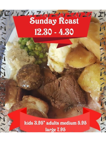 Sunday Lunch Offer at The Talbot.