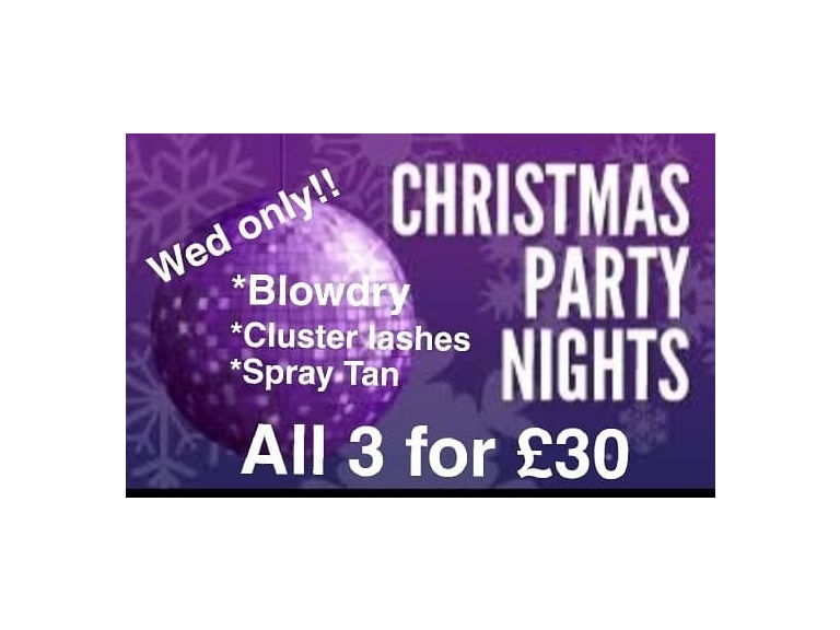 Christmas Party Nights Offers at Chatabox!