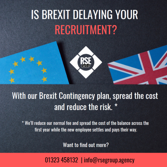 Is Brexit uncertainty delaying your recruitment?