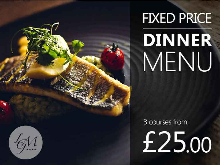 FIXED PRICE SPECIAL DINNER OFFER AT LA GRANDE MARE