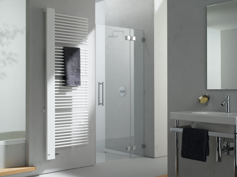 HEATED TOWEL RAILS FROM £100 AT CHANNEL ISLAND CERAMICS