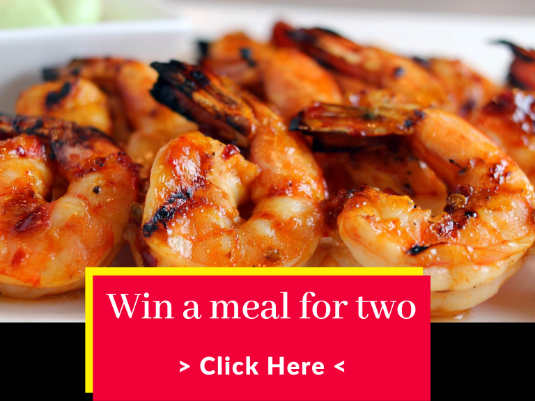 Win a meal for two!