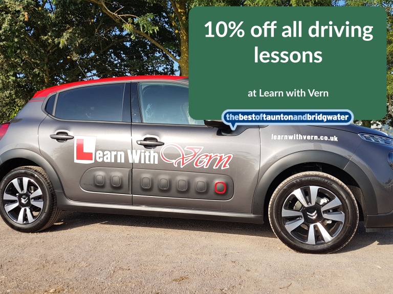 10% of all driving lessons!