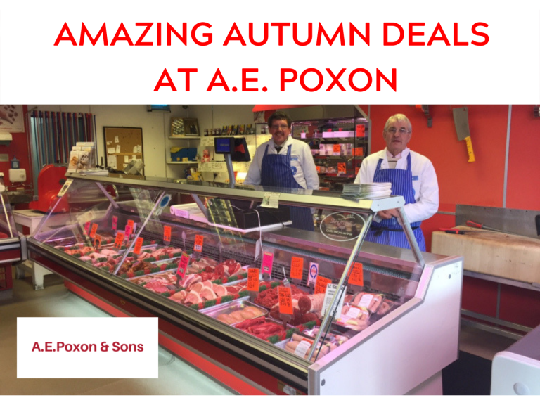 Amazing Autumn Deals at A.E. Poxon & Sons