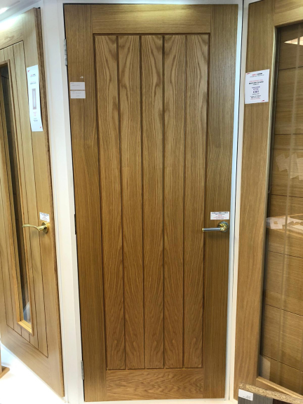 Pre-finished Internal Oak Door just £215 at Simply Doors!
