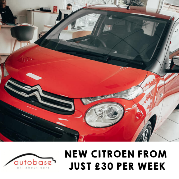 New Citroen from £129 Deposit and £129 per Month at Autobase Citroen and MG Walsall
