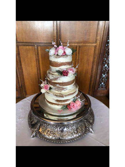 3 Tier Wedding Cake just £225 at Fletchers Cake Studio!