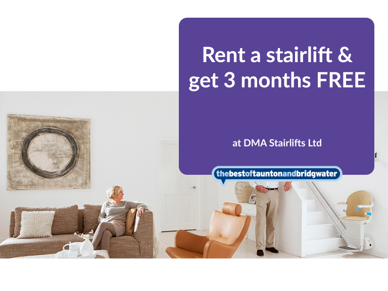 Rent a stairlift & get 3 months FREE