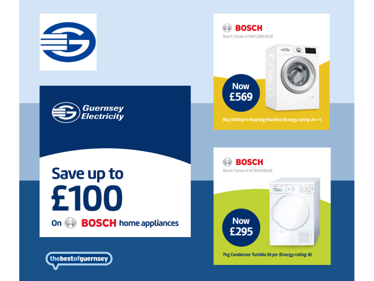 SAVE UP TO £100 ON BOSCH HOME APPLIANCES
