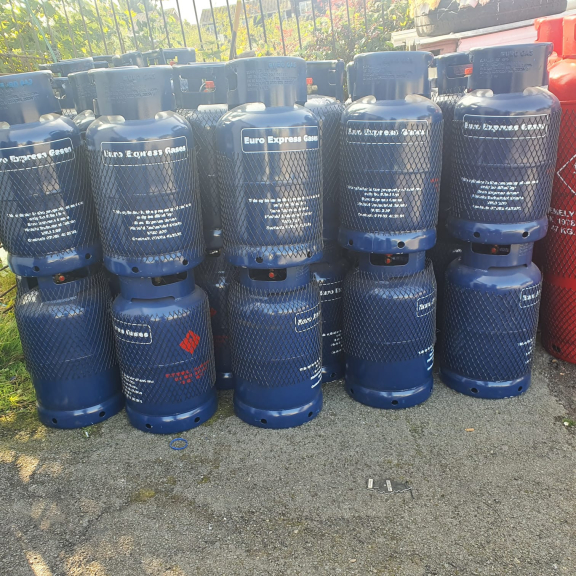 Gas Bottles 13kg Butane just £20 at Euro Express Auto Gas (LPG) Filling Station
