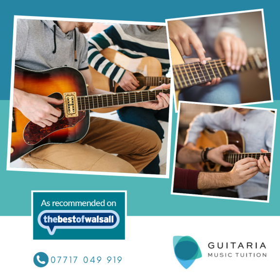 Get your first lesson half price at Guitaria Music Tuition!