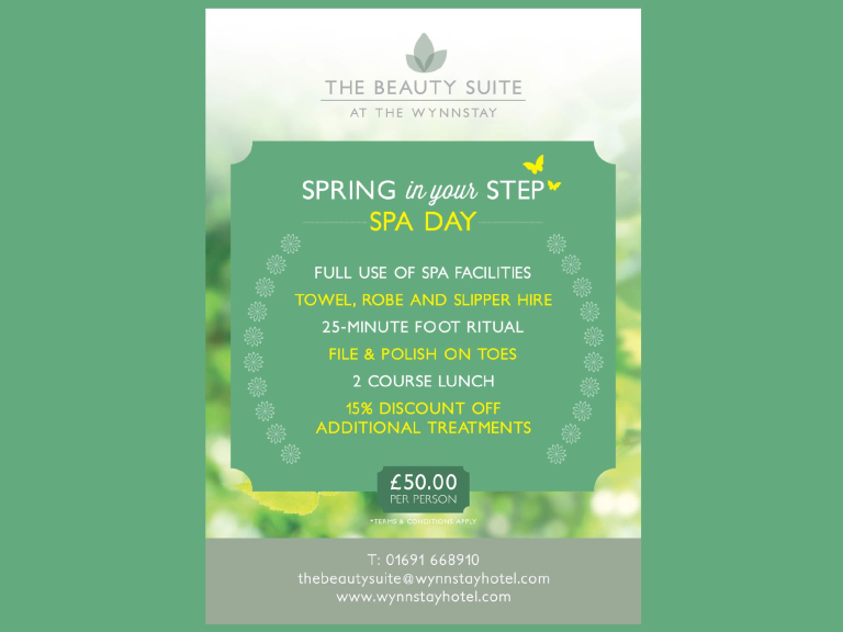 Spring in your Step SPA DAY