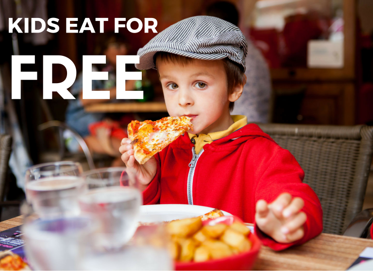 Half Term Offer - Kids Eat for Free