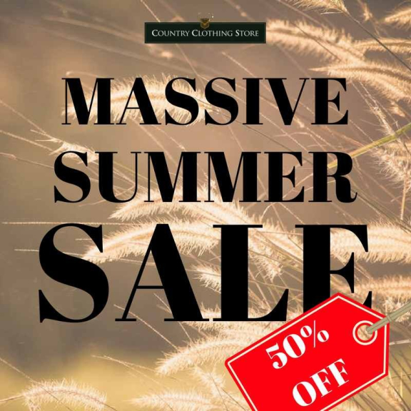 Summer SALE at Country Clothing Store in Ewell