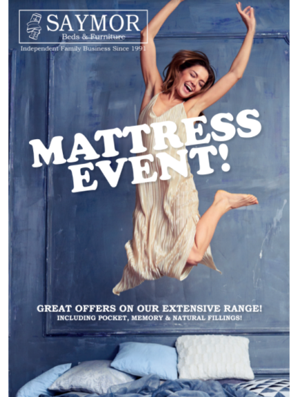 Along side our Mattress Event we're still offering our Free Furniture Scrappage Service
