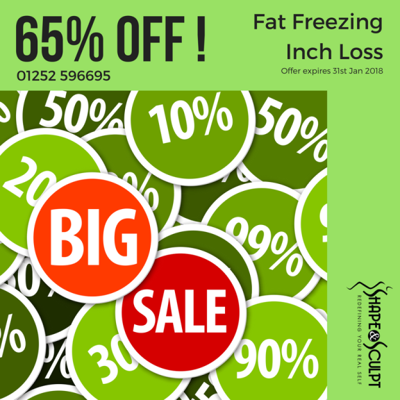 65% off Fat Freezing in January