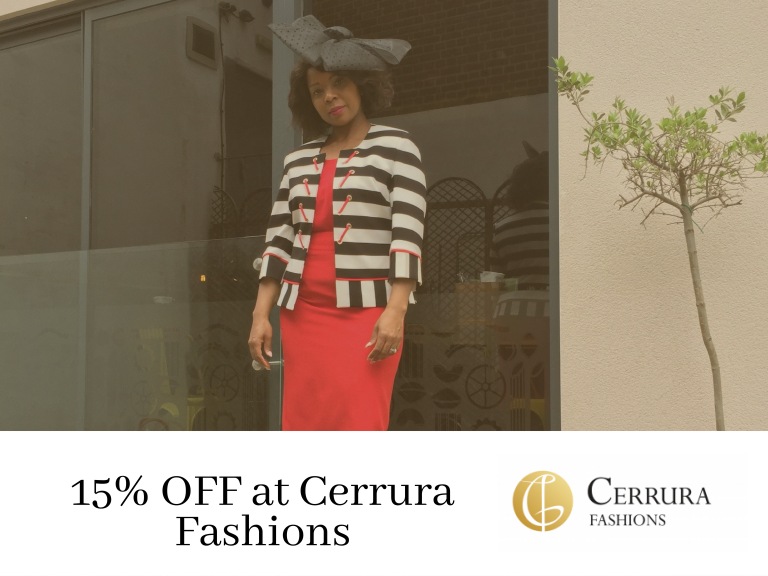15% OFF at Cerrura Fashions