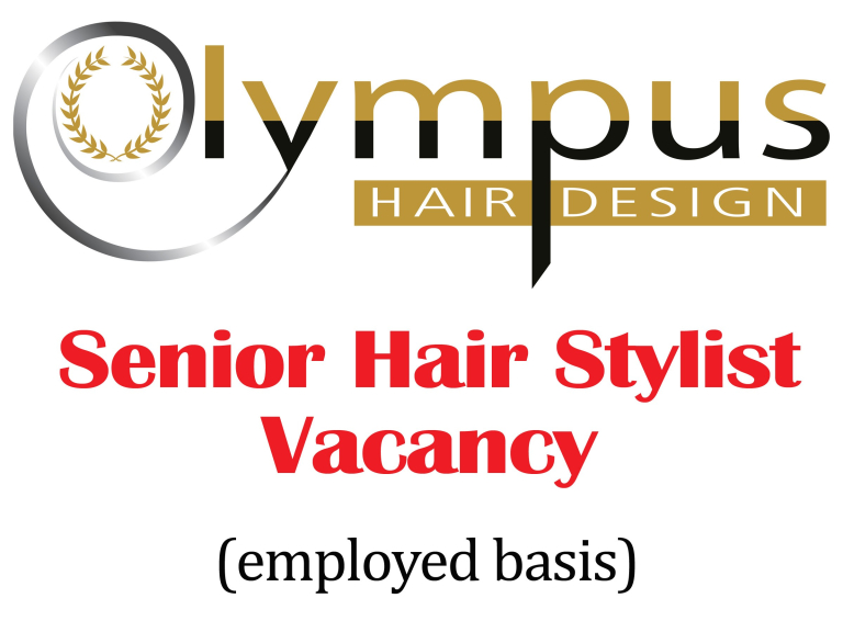 Hair Stylist Vacancy at Olympus Hair Design - Just outside St Neots