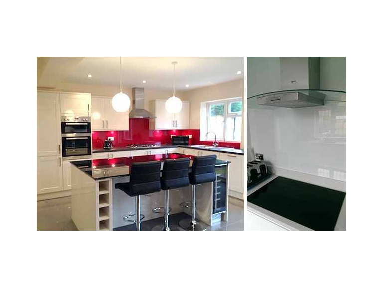 Free fitting on all splashbacks booked before the end of January 2019 at LISTER GLASS