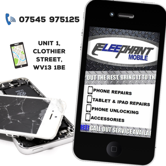 10% OFF ALL REPAIRS ON FIRST VISIT @ ELEEPHANT MOBILE!