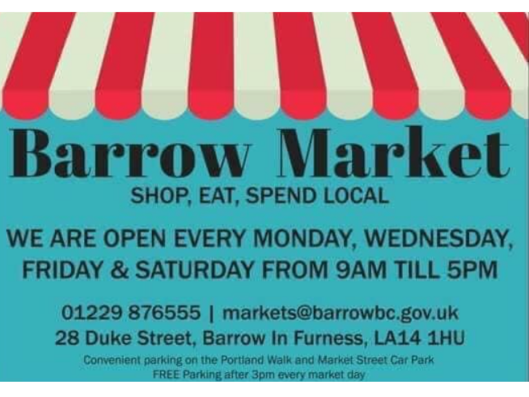 6 Week Trial Incentive at Barrow Market Hall
