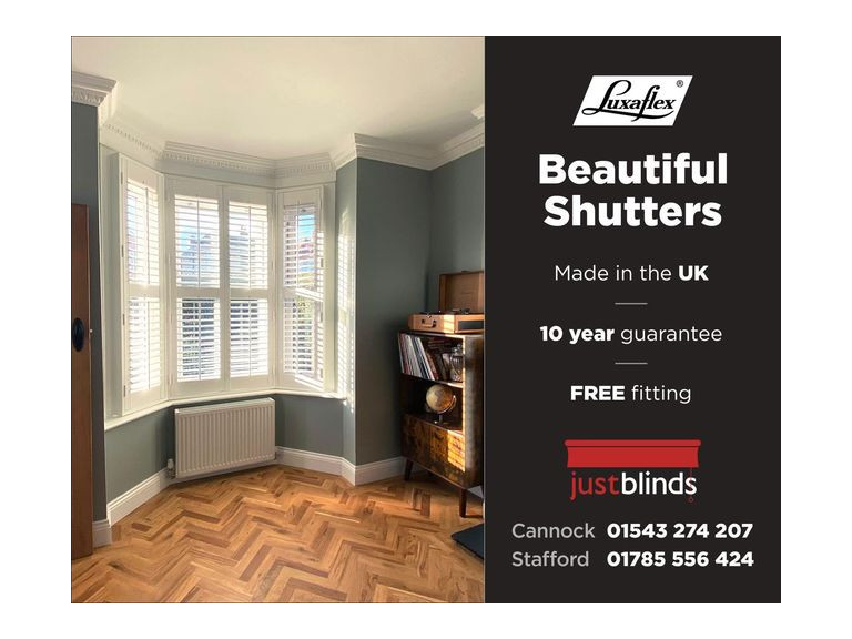 20% off ALL shutters ordered in JANUARY!
