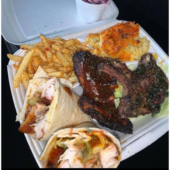 10% OFF authentic, homemade Caribbean cuisine at One Love Food Shack
