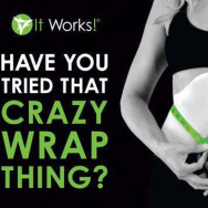 'It Works' Wrap - just £25 each, 2 for £45 or £80 for 4.
